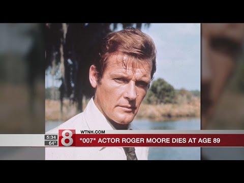 '007' actor Roger Moore dies at 89