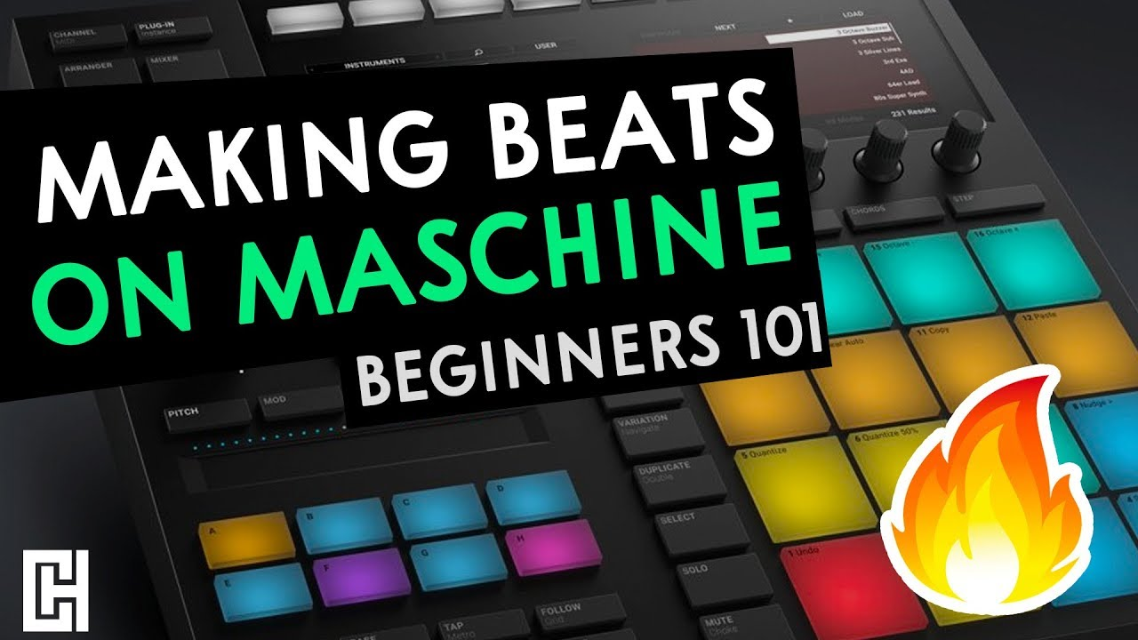 How To Make Beats On Maschine (Tutorial)