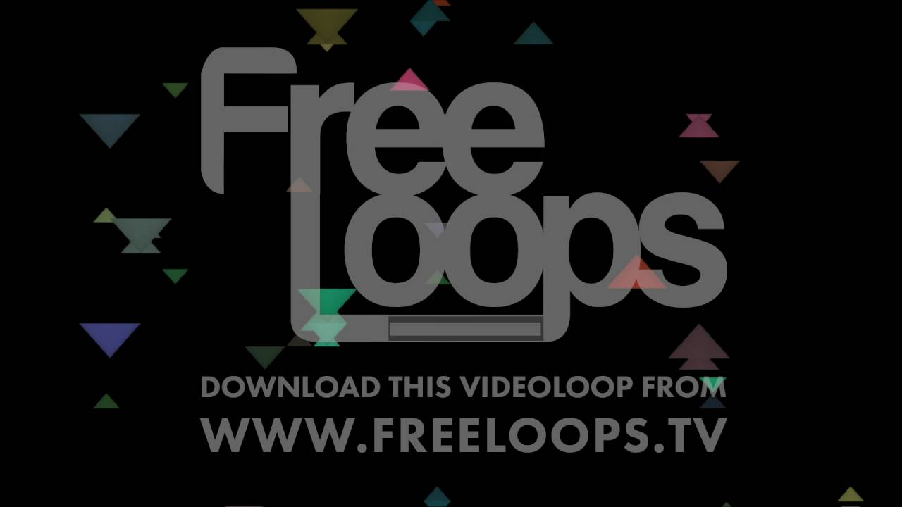 EDM Triangles Party Multi Colors from FreeLoops tv - YouTube