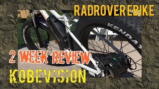 RadRover Electric Bike 2 Week Review