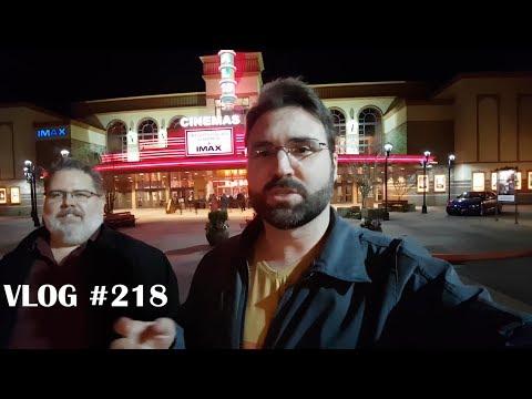 VLOG #218 - NOITE DE CINEMA E ROLLER DERBY