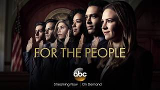 For The People on ABC - Cast Interview Featurette