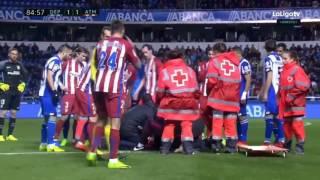 Fernando Torres prawie stracił życie na boisku??!!