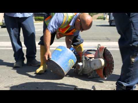 Stanley Hydraulic Tools: Water Main Break Repair (HP28, TP03, DS12)
