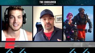 Meyers Leonard, Darren Sugg talk Fortnite   The Crossover with Noah Lichtenstein