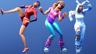 Fortnite All Dances Season 1-5 Updated to Capoeira