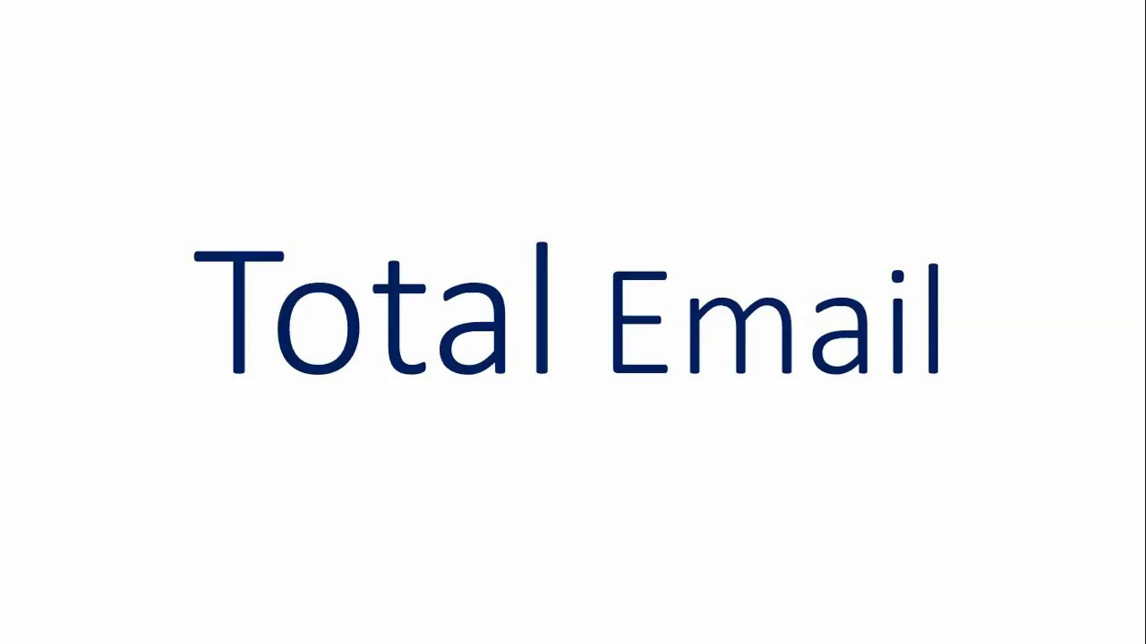 Total Email - An Excel add-in for Office 365 | Devpost
