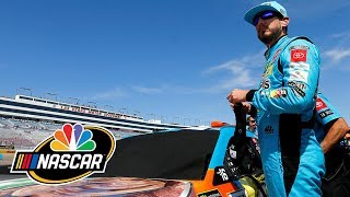 Why Kyle Busch is so frustrated after contact in Las Vegas | Splash & Go | Motorsports on NBC