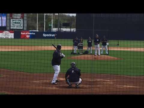 Yankees' Masahiro Tanaka pitches simulated game