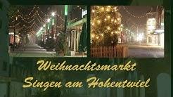 Singen am Hohentwiel  Hüttenzauber Weihnachtsmarkt 2015  HD