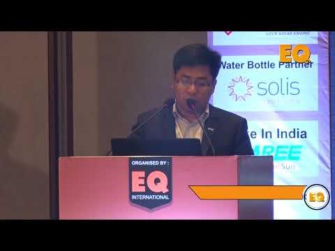 Jason Chow Marketing Director of APAC LONGi Solar  at EQ SolarTech Conference