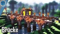 Minecraft Brücke bauen | Stein Brücke bauen in Minecraft deutsch | Brücke bauen in Minecraft 1.14