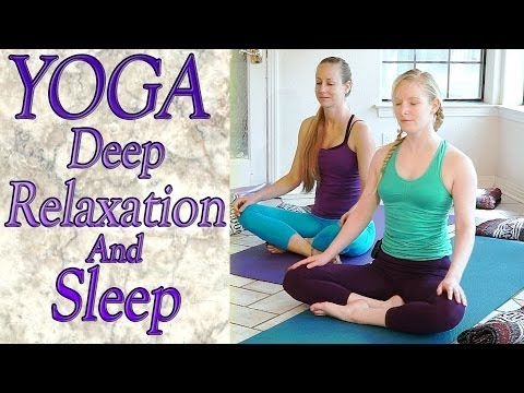 Beginners Yoga For Deep Relaxation Sleep Insomnia Anxiety Stress Relief