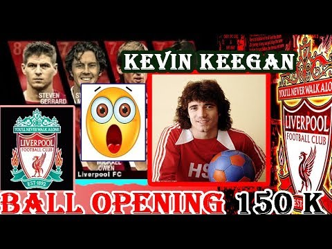 PES 2018 BALL OPENING | LIVERPOOL LEGENDS 150K