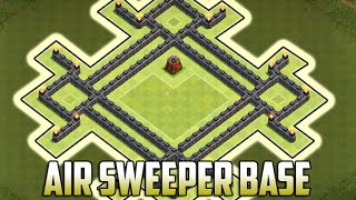 CLASH OF CLANS NEW TOWN HALL 7 AIR SWEEPER WAR BASE | TH7 WAR BASE w/ AIR SWEEPER 2015!!!