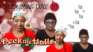 REPOST VLOGMAS DAY 10| REACTION| PENTATONIX|DECK THE HALLS