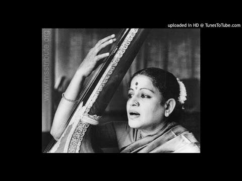 MS Subbulakshmi-EraNapai-Varnam-Thodi-Adi-Patnam Subramania Iyer