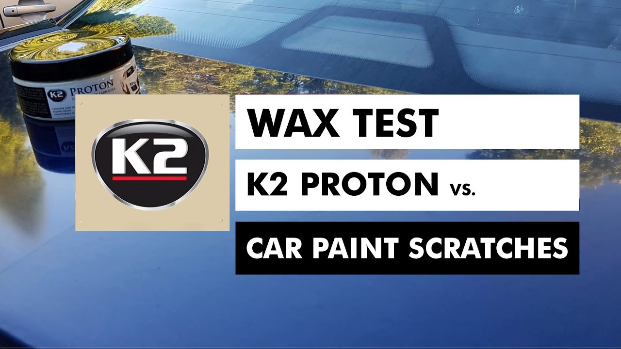 wax test k2 proton vs car paint scratches youtube. Black Bedroom Furniture Sets. Home Design Ideas