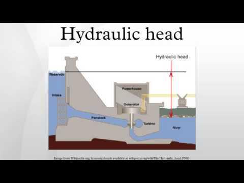 Hydraulic head - YouTube