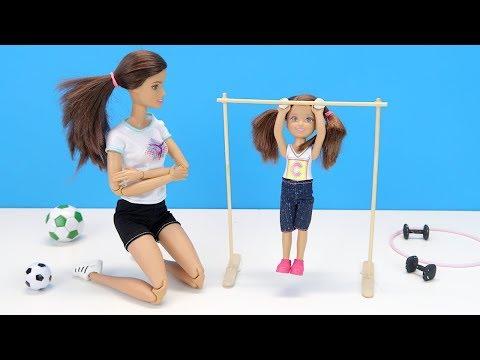 МОЯ МАМА УЧИТЕЛЬ ФИЗРЫ??!! Мультик #Барби Куклы Игрушки для девочек Про Школу IkuklaTV
