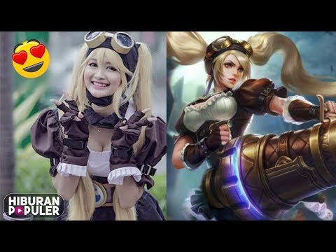 Cantik Banget.!! 5 Cosplay Hero Cewek Mobile Legends Asal Indonesia Bikin Para Jomblo Berdebar