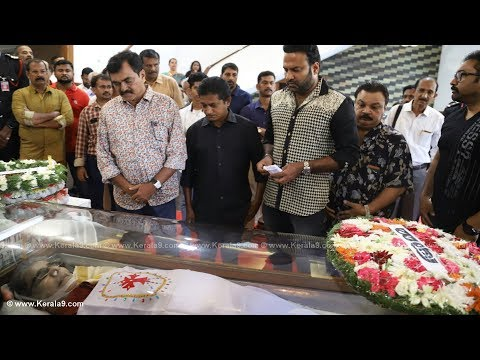 Captain Raju Funeral Ceremony - ColourfulKerala