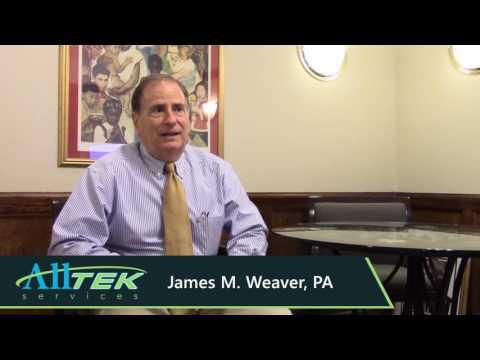 Alltek Services Testimonial Video from James Weaver, PA