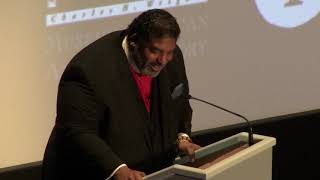 Rev. William J. Barber II's resounding prayer before 'Amazing Grace'