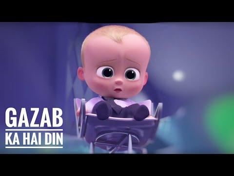 Gazab Ka Hai Din - Animated Video Song | Baby Version | DIL JUUNGLEE | Jubin N Prakriti K | SnappY