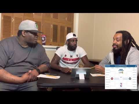 King Speech vlog: NBA 1st round playoff predictions w/ Josh & Tae