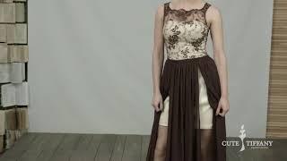 видео Червоне вечірнє плаття