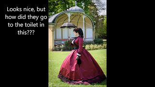 Victorian realities - how did they use the toilet??!