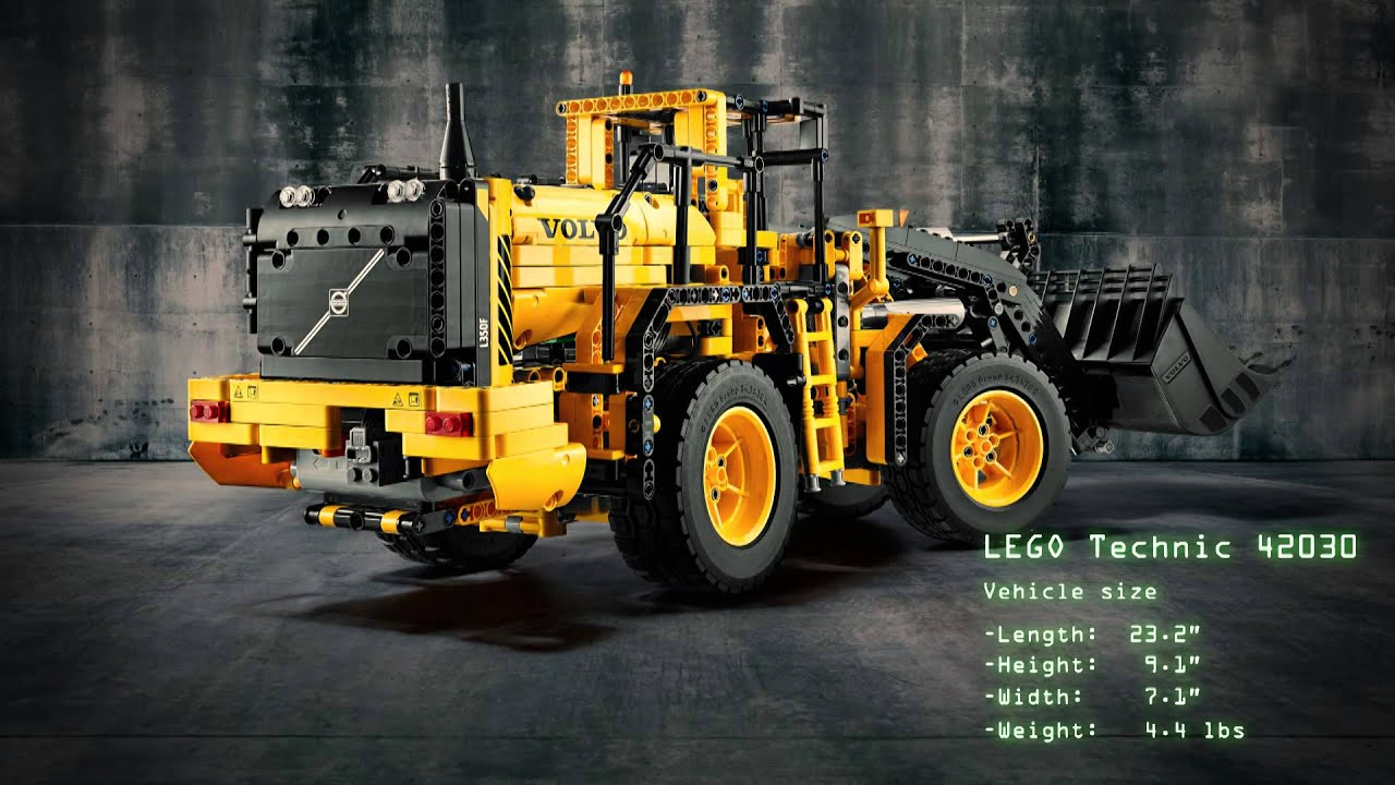 lego technic introduces the volvo wheel loader and. Black Bedroom Furniture Sets. Home Design Ideas