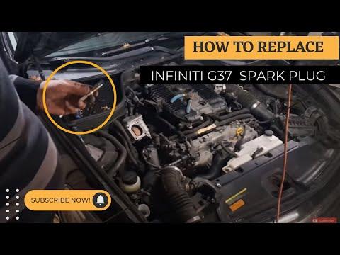 Infiniti G37 Spark Plug Replacement DIY