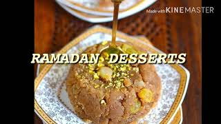 Ramadan desserts part 2
