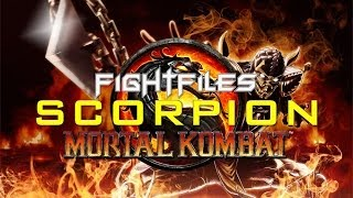SCORPION GUIDE - Mortal Kombat 9 (Moveset, Techniques & Strategy)