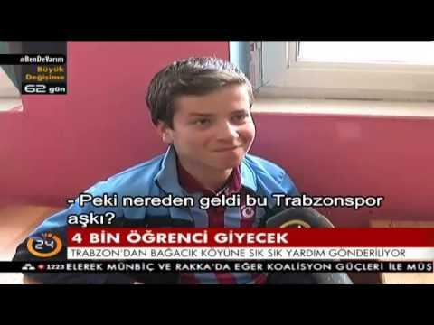 Diyarbakır Çınar köyündeki herkes Trabzonspor'u tutuyor