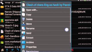 hacker de gemas clash of clans (ROOT).obs:Não vai interferir no clash of clans original