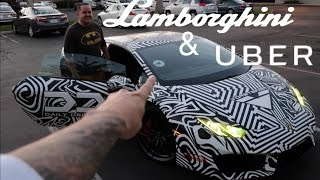 Driving my Uber 800 HP Lamborghini Huracan. Funny Supercar Reactions!