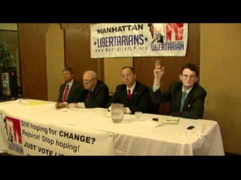 NYC Libertarian Party 2012 Presidential Debate - January 2012