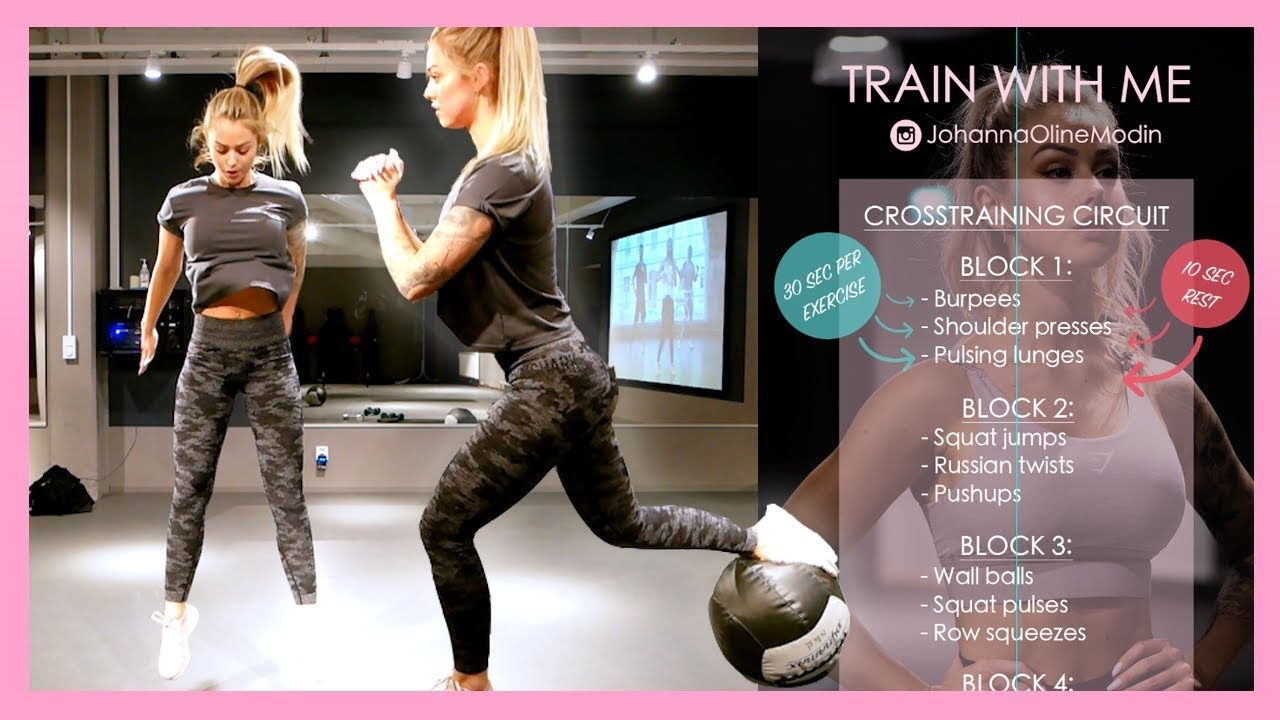 TRAIN WITH ME - Crosstraning session (Full body)