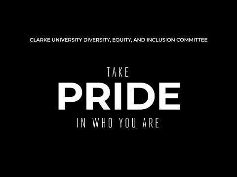 Take Pride in who you are.