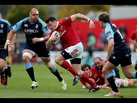 Munster V Cardiff Blues  Highlights – GUINNESS PRO12 2015/16