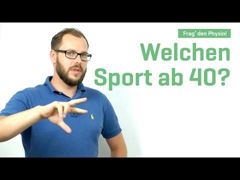 Welchen Sport ab 40? – Frag den Physiotherapeuten