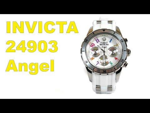 Invicta 24903 Womens Angel Stainless Steel Quartz Watch