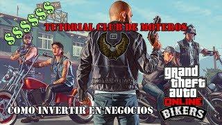 TUTORIAL NEGOCIOS CLUB MOTEROS GTA V ONLINE