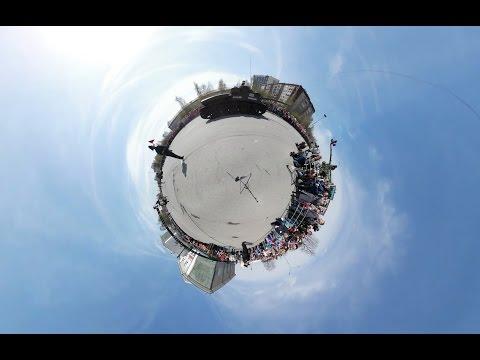 Верхняя Пышма парад 9 мая 2017 VR-360