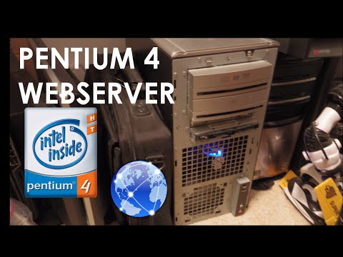 My Pentium 4 Web Server , Gateway 832GM