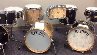 My New Gretsch Broadkaster drum kit, Australian #indie band.