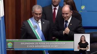 Solenidade de posse do Governador e vice-Governador de MS